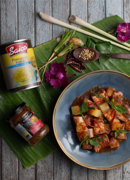 Red Curry Pork with Pineapple B